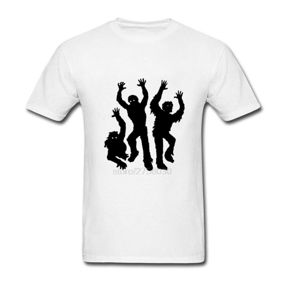 2018 Zombies Mens T Shirt O-Neck Plus Size 3XL vlone deadpool dsq eye hip hop fear of god skam pokemon mma for twin peaks vespa