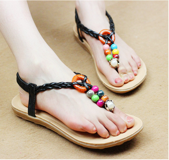 6c846fc28 Ladies flat sandals for girls latest woman -in Women s Sandals from ...