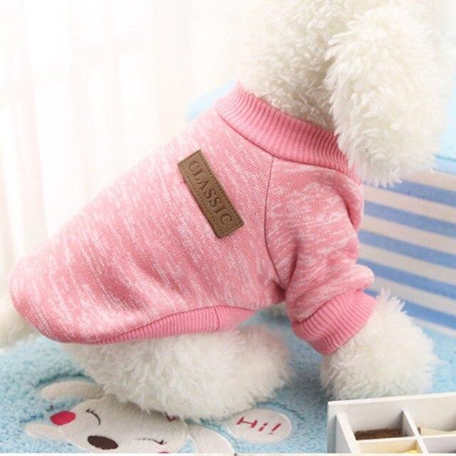 2018 di Modo Cucciolo di Cane di Inverno Caldo Vestiti di Cotone del Gatto Dell'