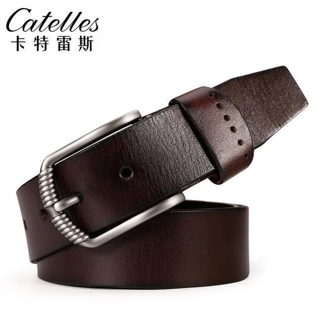 New Hot Sale Catelles Leather Belts for Men High Quality Feragamo Belt Buckle Automatic Male Belts for Men Luxury Famous Brand