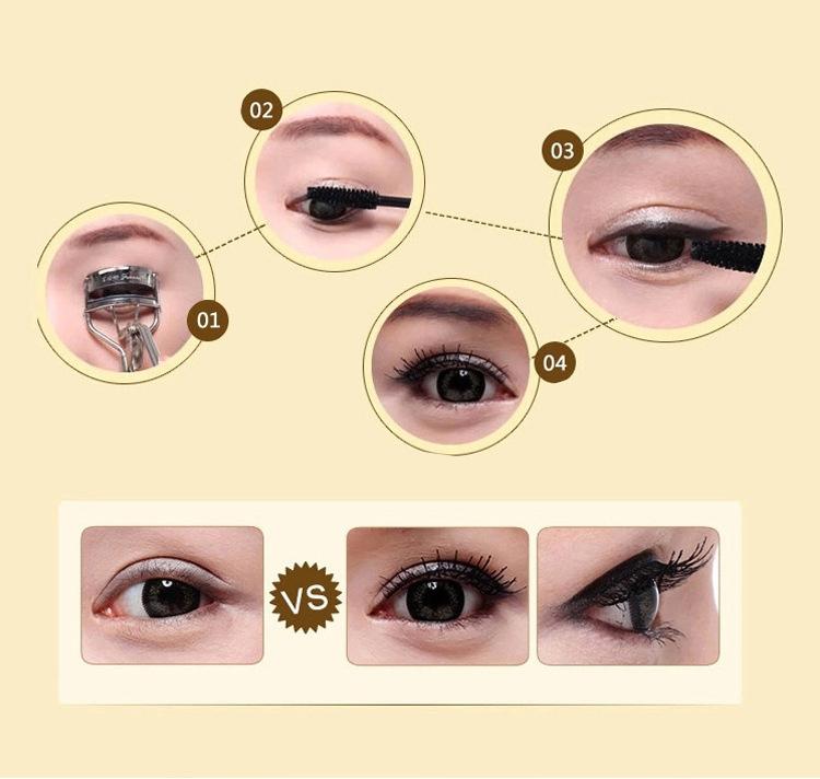Natural Black Curling Eye Mascara