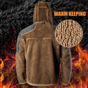 Image 3 - 무료 군인 야외 스포츠 캠핑 하이킹 전술 군사 남자의 소프트 쉘 재킷 바람 따뜻한 방수 코트 여행 천