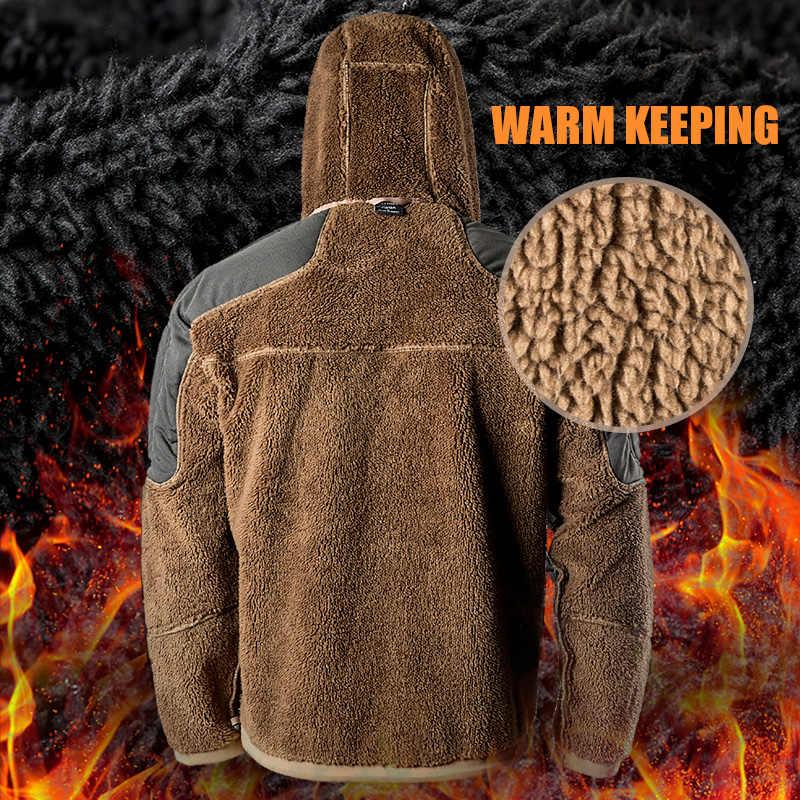 を無料の兵士屋外スポーツチミリタリーキャンプハイキング戦術軍事男性のソフトシェルジャケット風温水耐コート旅行の布