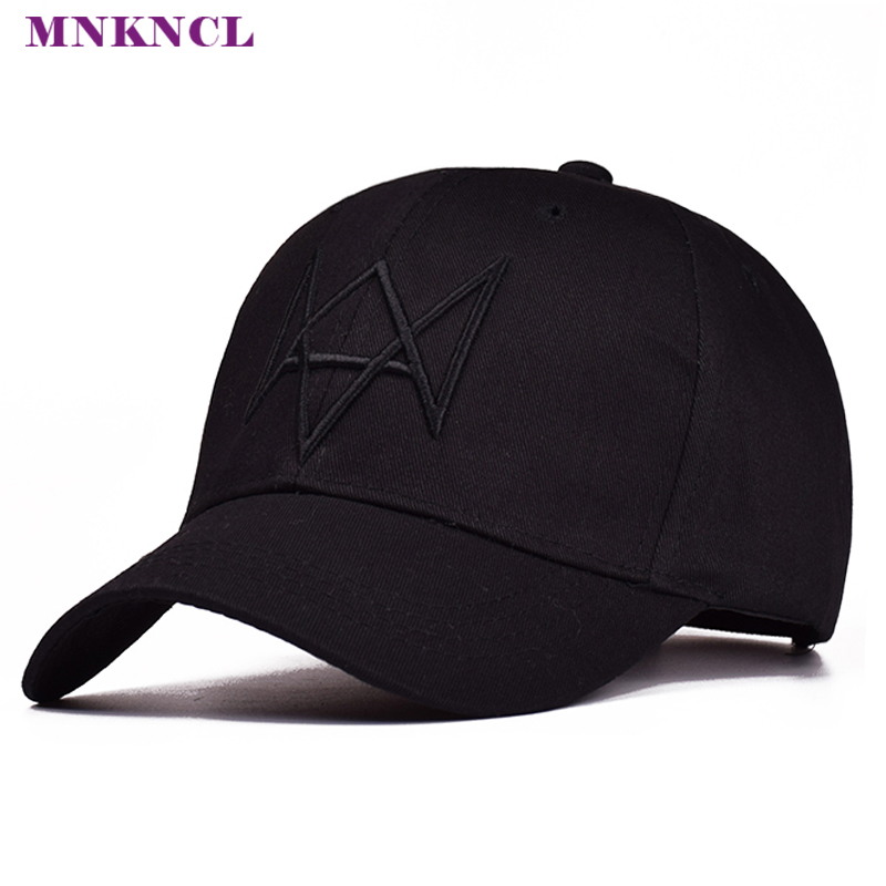 High Quality Watch Dogs Aiden Pearce Baseball Cap Costume Cosplay Watch Dogs Hat Adjustable Snapback Cap Hats jackson pearce sisters red