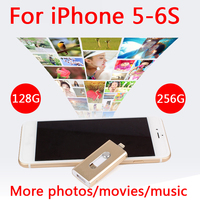 Chaude Métal Pendrive 16 GB 32 GB 64 GB Foudre Stylo Pilote Otg Usb Flash Drive 128 GB 512 GB 256 GB Pour IPhone 5S/5c/6/6 Plus/7/8/Ipad