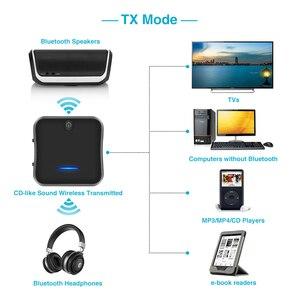 Image 4 - B19 AptX HD krótki czas oczekiwania Bluetooth 5.0 nadajnik i odbiornik Audio muzyka CSR8675 TV PC Adapter bezprzewodowy RCA/SPDIF/3.5mm Aux Jack