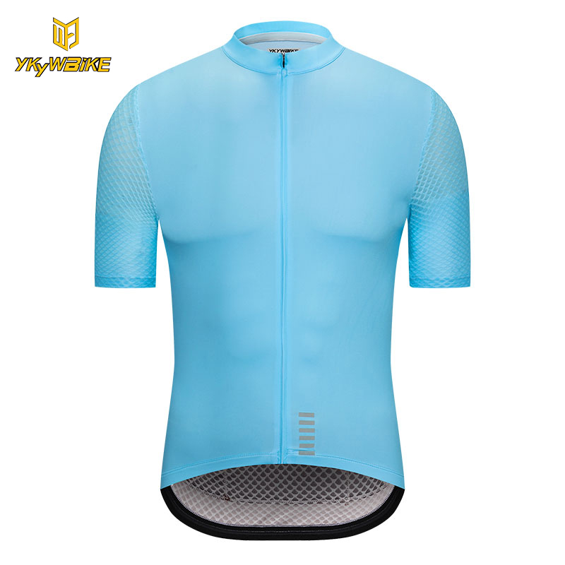 цена на YKYWBIKE 2018 Cycling Jersey Breathable Pro Summer MTB Bike Clothes Short Sleeve Bicycle Clothing Hombre Ropa Maillot Ciclismo
