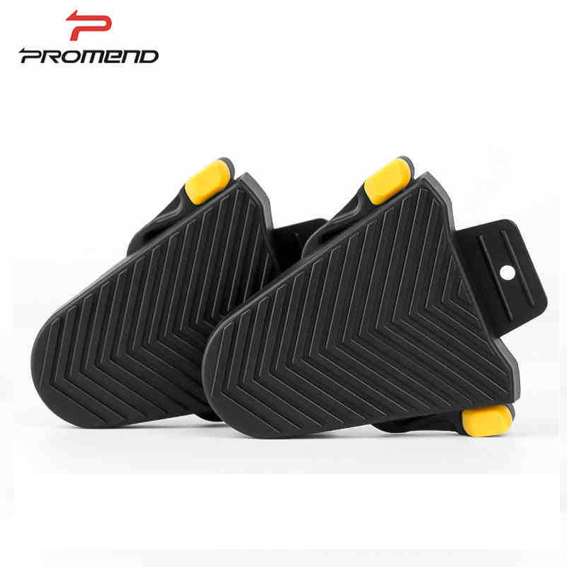 PROMEND Road bicycle Pedals Quick Release Rubber Cleat Cover Bike Pedal Cleats Covers for Shimano SPD-SL Cleats Pair