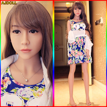 168cm Top Quality Real Sex Doll with Metal Skeleton, Full Size Silicone Sex Doll Love Doll, Oral Vagina Pussy Anal Adult Doll(China)
