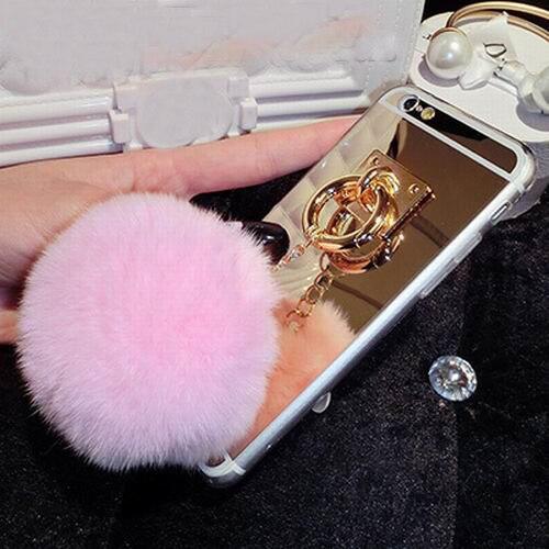coque iphone 8 plus pompom
