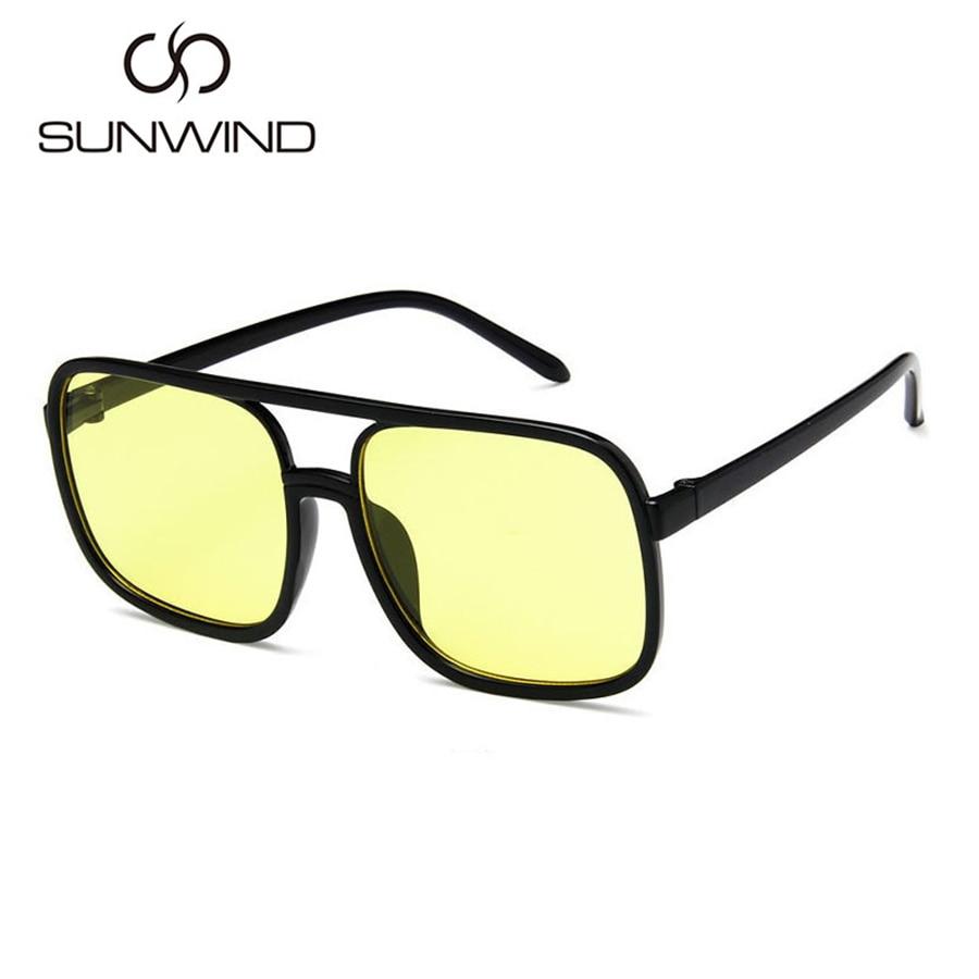 Mode Männer Frauen Sonnenbrille Square Frame Vintage Goggle Plain - Bekleidungszubehör - Foto 5