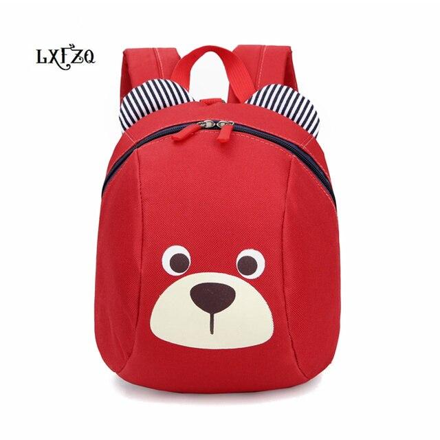LXFZQ mochila infantil new children school bags Anti-lost children's backpack for children Baby bags Kids Bag Schoolbag Backpack 1