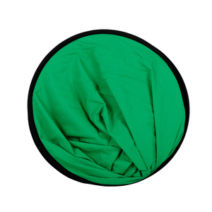 Image 4 - 100cmX150cm Collapsible Nylon Oval Reflector 2 in 1 Blue and Green Background Board Folding Backdrops Photo Studio Accessories