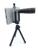 5en1 Telefoto 12X de Zoom de Cámara Del Telescopio Del Teléfono de la Lente 3in1 Clip en kit de lentes de gran angular ojo de pez macro para iphone samsung xiaomi