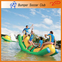 Free shipping ! Free Pump ! Inflatable water games water toys inflatable water seesaw inflatable water totter for sale