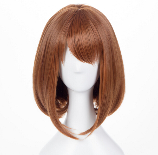 Anime Boku no Hero Academia OCHACO URARAKA Wigs My Hero Academia Halloween Party Cosplay wigs