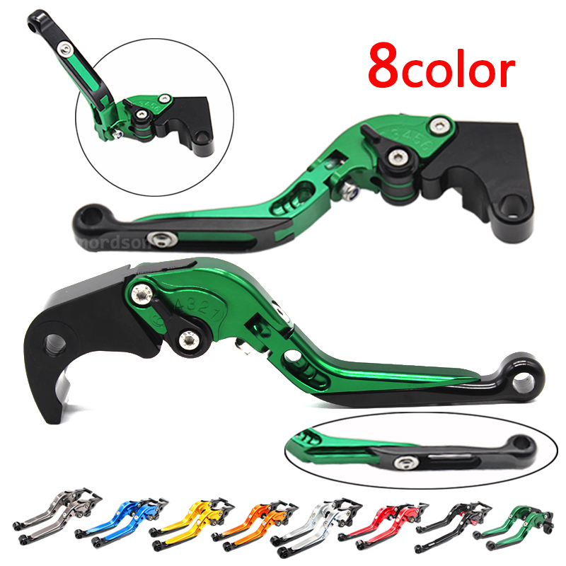 CNC Adjustable Foldable Extendable Motorcycle Brake Clutch Lever For Kawasaki Z1000 ZX6R VERSYS 1000 F-14/K-828 cnc foldable