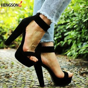 35d3fda5d12 hengsong 2018 Sexy Women Pumps Party Shoes High Heel