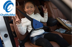 Image 3 - CheMeiMei Car Safe Fit Seat Belt Adjuster Car Safety Belt Adjust Device Baby Child Protector Covers Positioner Drop shipping