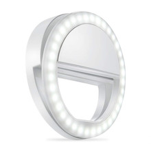 Battery Selfie Ring Light for IPad Computer Camera Flash Led Photography Ring Light Enhancing Photography for iPhone Smart hx 50 led ring light