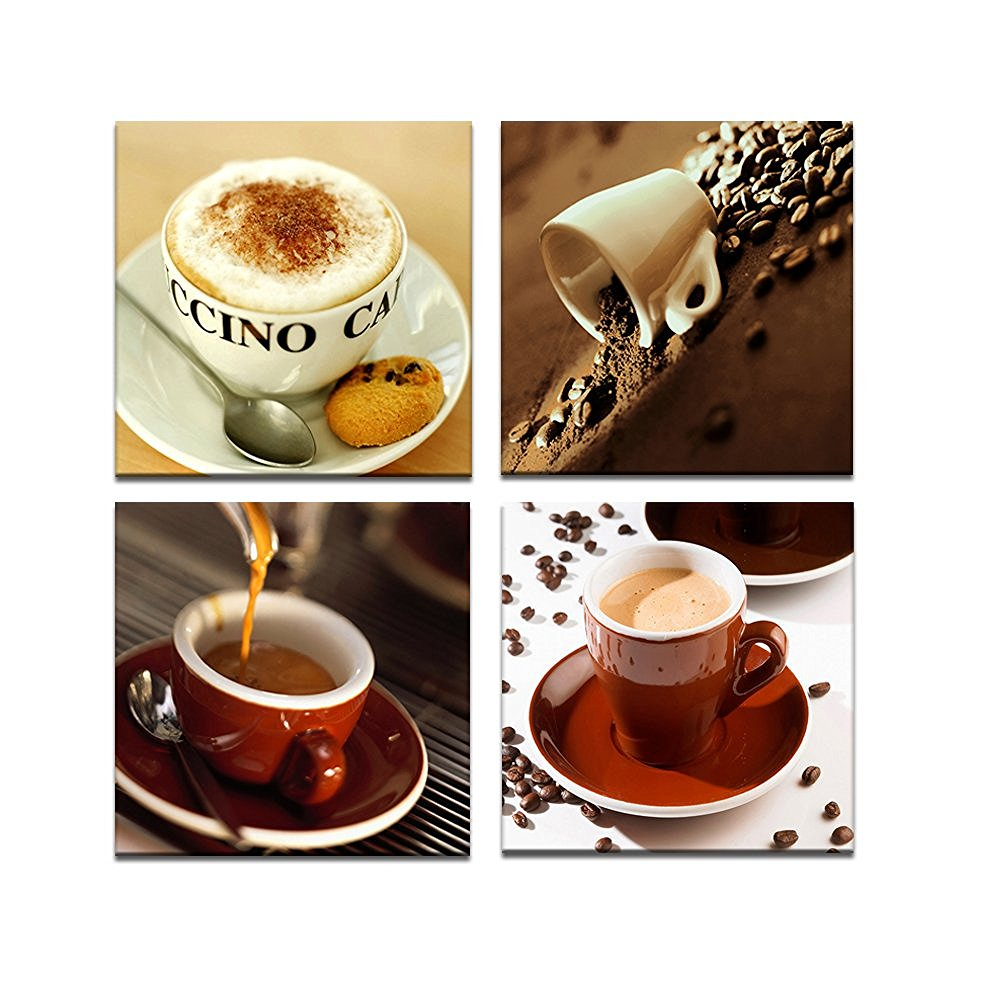 Custom 60 coffee cup wall decor decorating inspiration of red coffee cup wall decor compare prices on coffee cup decor wall art online shopping amipublicfo Image collections