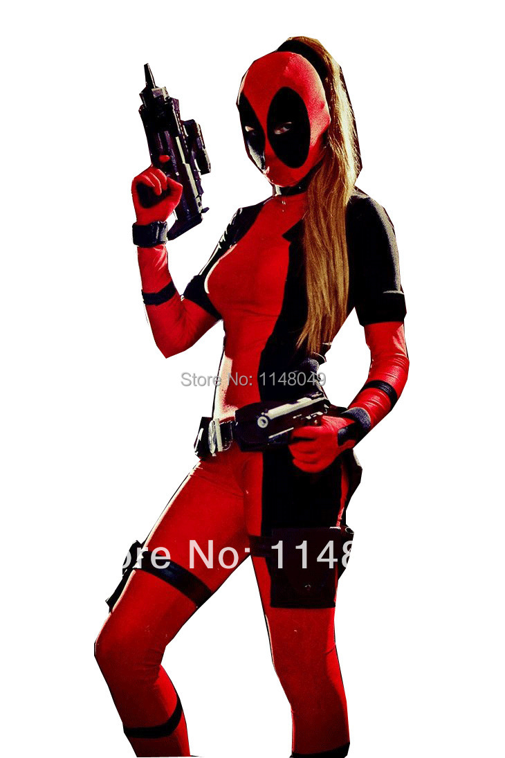 Lady Deadpool Costume Reviews - Online Shopping Lady ...