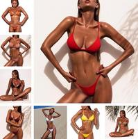 2018 Swimwear Sexy Swimsuit Women Bikini Push Up Biquinis Swimsuit Lady Bathing Suit Female Swimwear Women