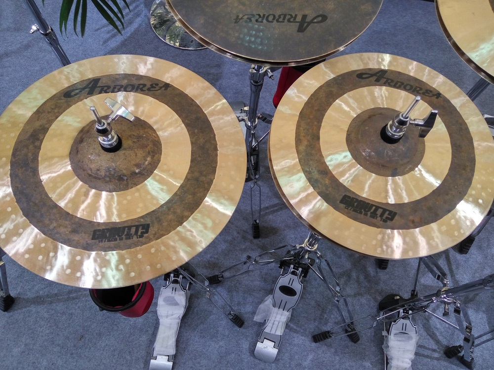ARBOREA Gravity series cymbal set: 14hihat+17crash+18 crash