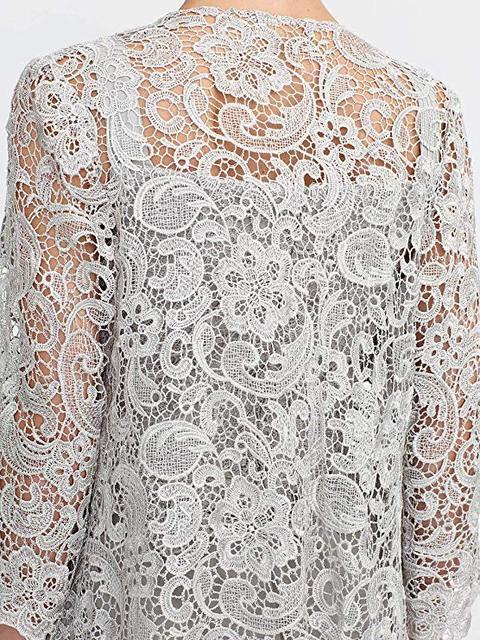 Elegant Gray Lace Mother of The Bride Pant Suit 2019 Plus Size Chiffon Formal Evening Dresses Long Vestidos De Madrina 2