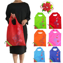 Strawberry Print Reusable Grocery Bag Multifunctional Folding Shopping Tote Washable Durable Bags Customizable Logo