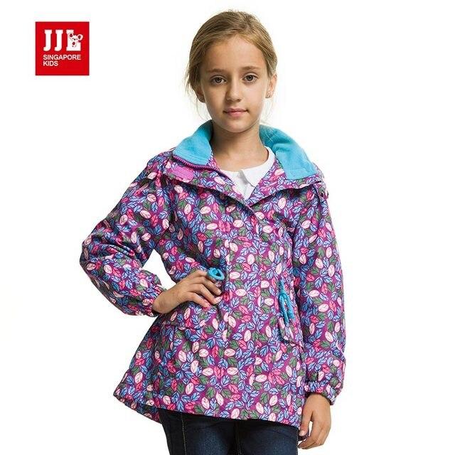 girls'coat&jacket 2016 brand fashion windproof outerwear&coats girls coat kids jacket children clothing for kids clothes