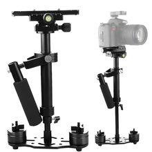 Fotografia s40 + 0.4m 40cm, estabilizador de liga de alumínio, para steadycam, para canon, nikon, fotografia dslr câmera fotográfica para câmera