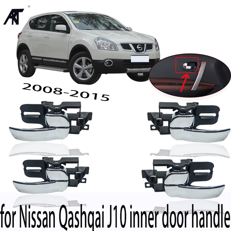 Hight quatily Car Inside Door Handle inner door handle for Nissan Qashqai J10 2008 2009 2010 2011 2012 2013 2014 2015 accessorie 6 ml 12 colors professional acrylic paints set hand painted wall painting textile paint brightly colored art supplies free brush