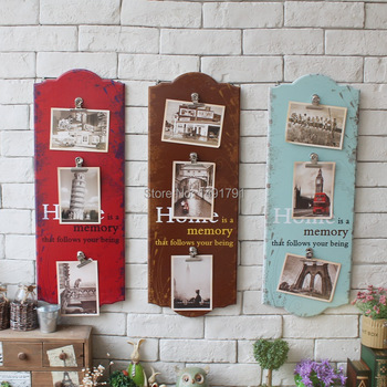 Vintage home bar hotel decoration Wood Plaques Message Board 60*22CM Escape room decoration