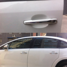 Car Styling 8pcs/set Car Door Handle Cover For Peugeot 301