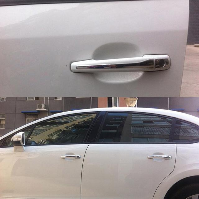 Car Styling 8pcs/set Car Door Handle Cover For Peugeot 301
