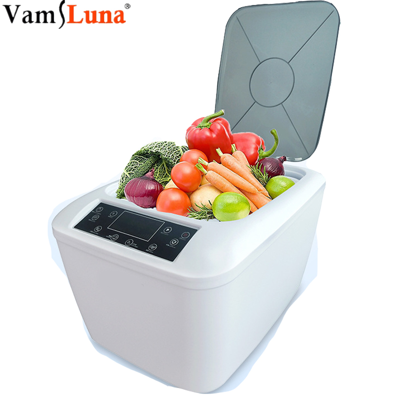 Multifunctional Sterilizer Detoxification Machine For Fruits And Vegetables,Ultrasound Ozone Food Purifier Cleaner