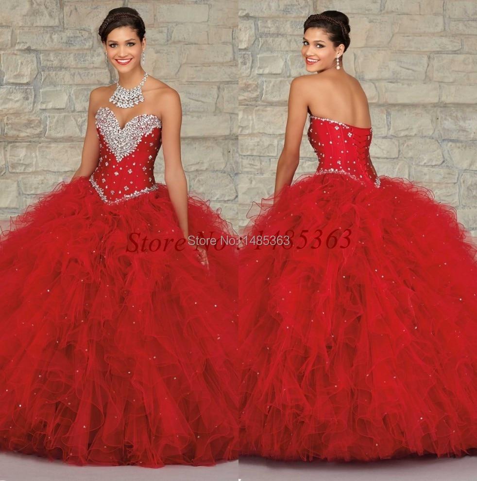 Short Red Quinceanera Dress Promotion-Shop for Promotional Short ...
