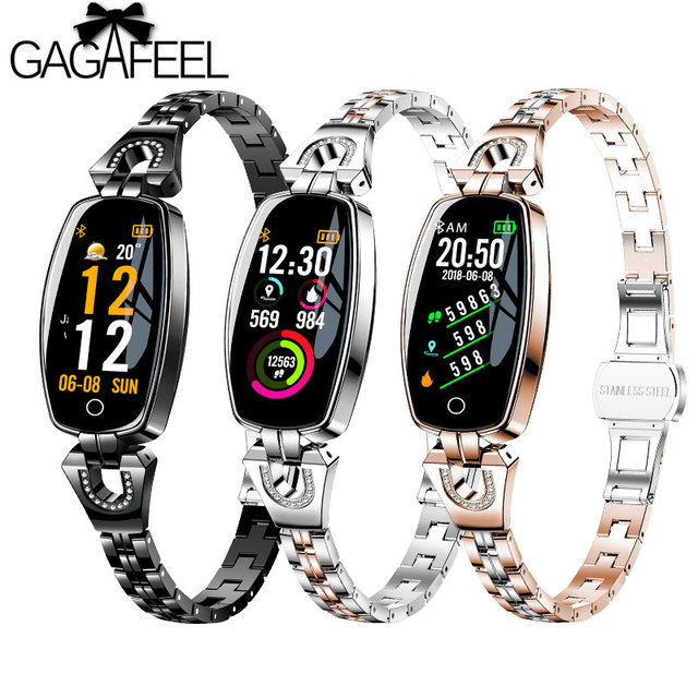 H8 Smart Bracelet Women Fashion Wristband Heart Rate Monitor Fitness Tracker IP6