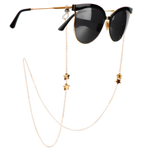 1Pcs Eyeglasses Chains for Women Metal Sunglasses Reading Glasses Cords Vintage Glasses Holder Strap Lanyards Eyewear Necklace