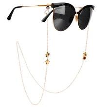 1Pcs Eyeglasses Chains for Women Metal Sunglasses Reading Glasses Cords Vintage Glasses Holder Strap Lanyards Eyewear Necklace