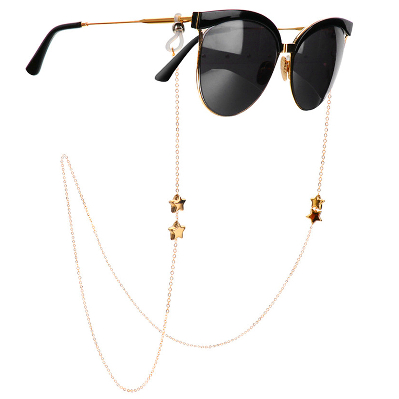 1Pcs New Fashion Glasses Chain Sunglasses Spectacles Vintage Chain Holder Cord Lanyard Necklace Eyewear Accessories Glass Strap