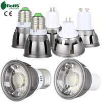 Ultra Bright LED COB Spotlight 6W 9W 12W E26 E27 MR16 GU10 GU5.3 Light Bulb 12V AC 220V 110V Spot light Lamp Warm Cool White