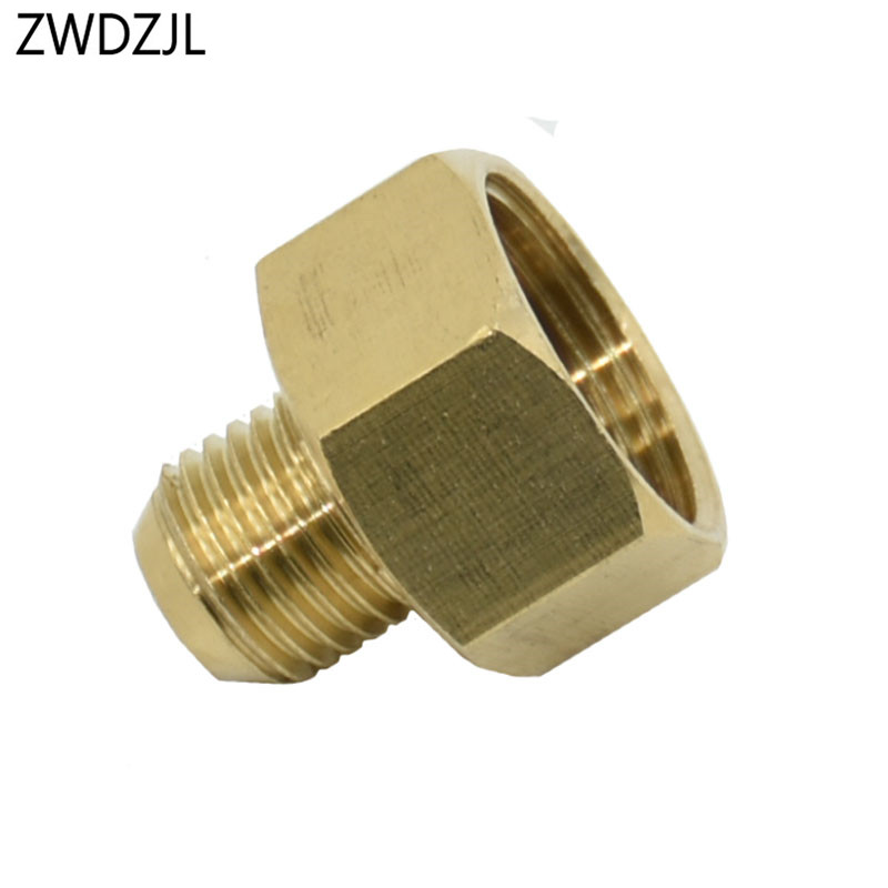 Female M22 To M14 Male Connector Brass Adapter Pressure Washer Reducing Joint Threaded Connector Spray Machine Fittings 1 Pcs