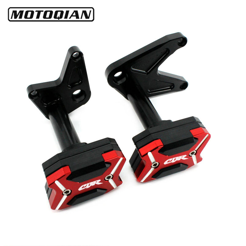 Motorcycle Frame Sliders Crash Pads Modified Accessories Fairing Guard Protection For HONDA CB650F CBR650R CBR650F 2014 - 2017Motorcycle Frame Sliders Crash Pads Modified Accessories Fairing Guard Protection For HONDA CB650F CBR650R CBR650F 2014 - 2017