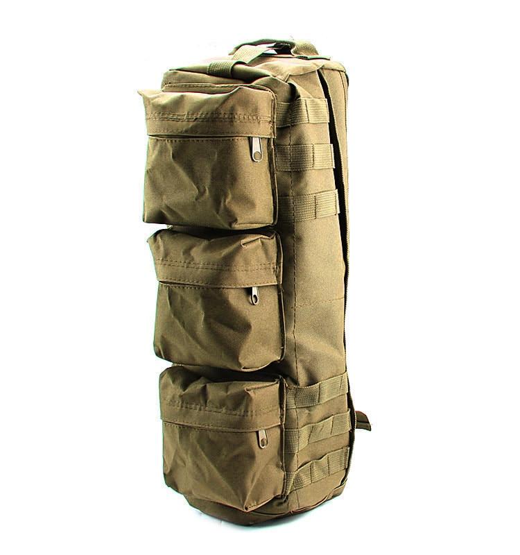 Tactical MOLLE Assault Go Bag Shoulder Sling Military / Gym Hiking Camping Pack