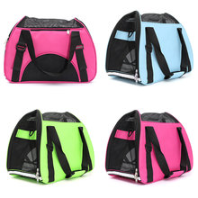 Nylon Rose Green Blue Dog Bag Windproof Solid Slings Chihuahua Bag Cat Carrier Dog Bag Carring Bags