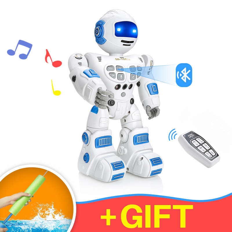 Home Automation Modules 1pcs Intelligent Mini Pocket Robot Walk Music Dance Toy Light Voice Recognition Conversation Repeat Smart Interactive Kids Gift Smart Home