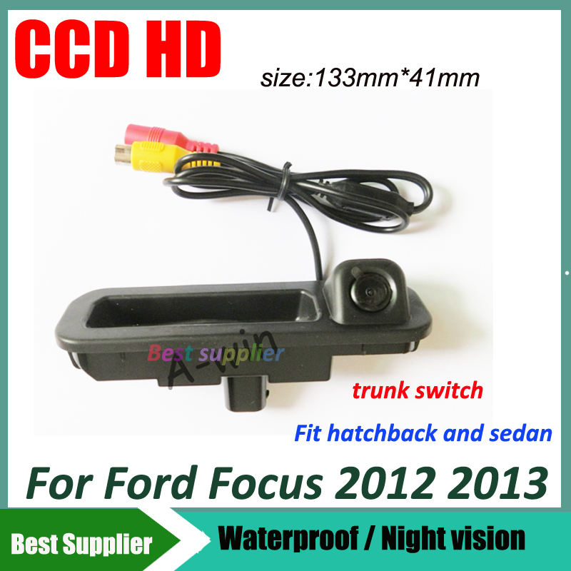 Auto Ccd Hd For Ford Focus 2 Focus 3 Car Trunk Handle