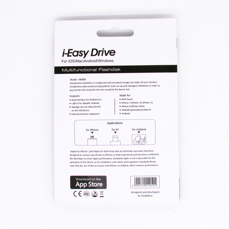 i-Easy Drive i-Flash iFlash Drive HD 16 ГБ 32 ГБ 64 ГБ - Внешнее хранилище - Фотография 6